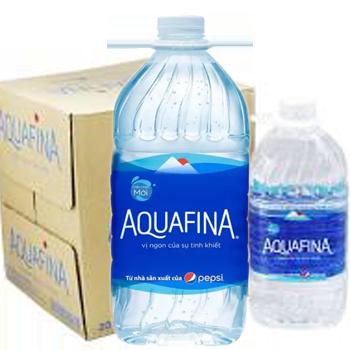 Bình nước Aquafina 5l, nước tinh khiết aquafina 5 lít giao hàng nhanh