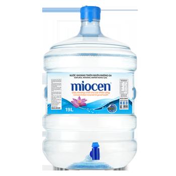 Bình nước Miocen 19L, nước uống Miocen 20L giao tận nhà