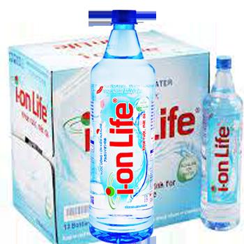 NƯỚC ION LIFE 1.25l (12 chai / Thùng), giao hàng nhanh tận nơi