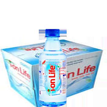 NƯỚC ION LIFE 330ml (24 chai / Thùng), giao hàng miễn phí tận nơi