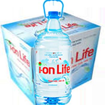 NƯỚC ION LIFE 4.5l (4 chai / Thùng) miễn phí giao hàng nhanh