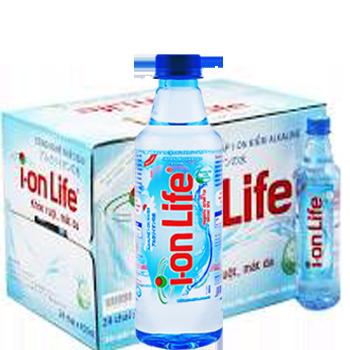 NƯỚC ION LIFE 450ml (24 chai / Thùng), phục vụ nhanh miễn phí