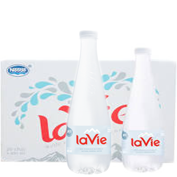 Nước khoáng lavie premium 400ml (20 chai / thùng) giao hàng miễn phí
