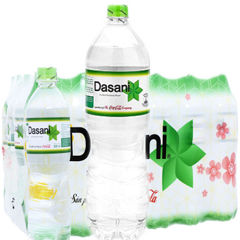Nước suối Dasani 1.5l (12 chai/Thùng) giao hàng nhanh miễn phí