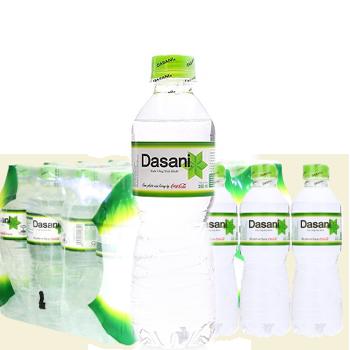 Nước suối Dasani 350ml (24 chai / thùng) phục vụ miễn phí tận nơi