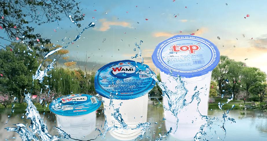 Nước suối ly, nước đóng ly hộp nhỏ phân phối giao nhanh miễn phí