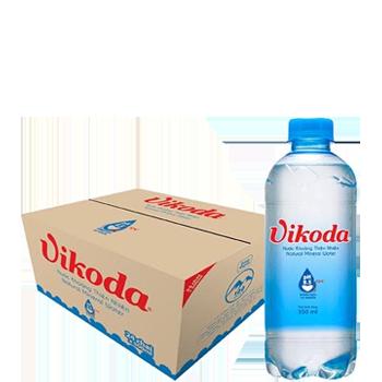 Nước suối Vikoda 350ml (24 chai/ Thùng), giao nhanh miễn phí