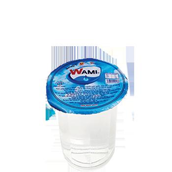 Nước uống đóng ly Wami  160ml (48 ly / Thùng), Nước suối ly Wami