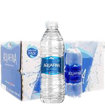 Thùng nước suối Aquafina 500ml (28 chai / Thùng) miễn phí giao hàng